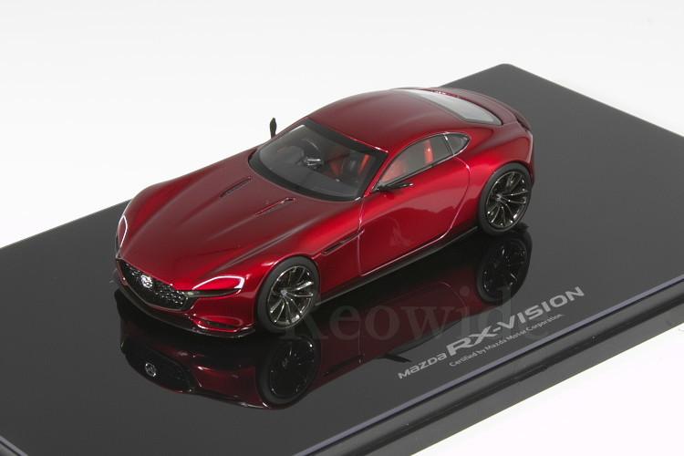 マツダ ディーラー特注 1/43 Mazda RX-VISION COUPE ロータリースポーツコンセプト_画像1
