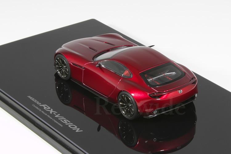 マツダ ディーラー特注 1/43 Mazda RX-VISION COUPE ロータリースポーツコンセプト_画像2