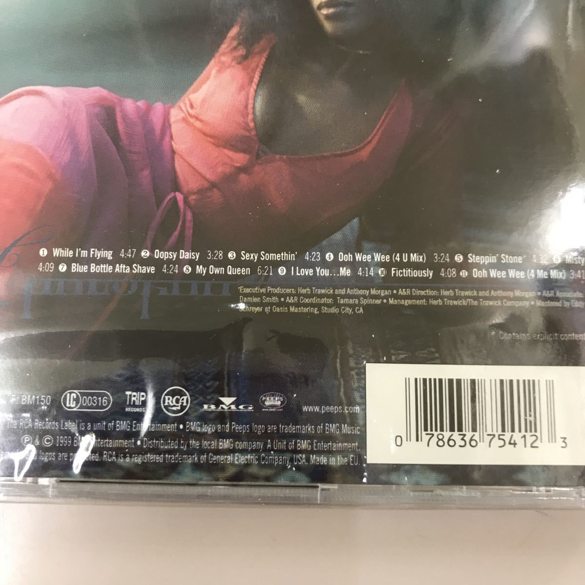 CD 輸入盤未開封【洋楽】長期保存品 cherokee