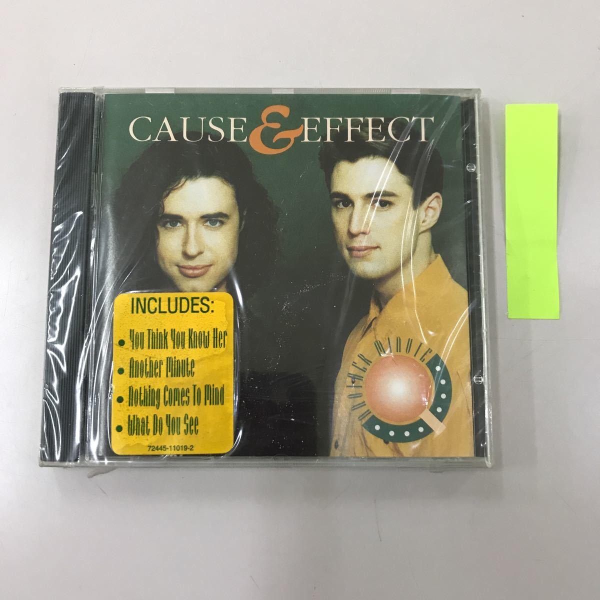 CD 輸入盤未開封【洋楽】長期保存品 CAUSE&EFFECT