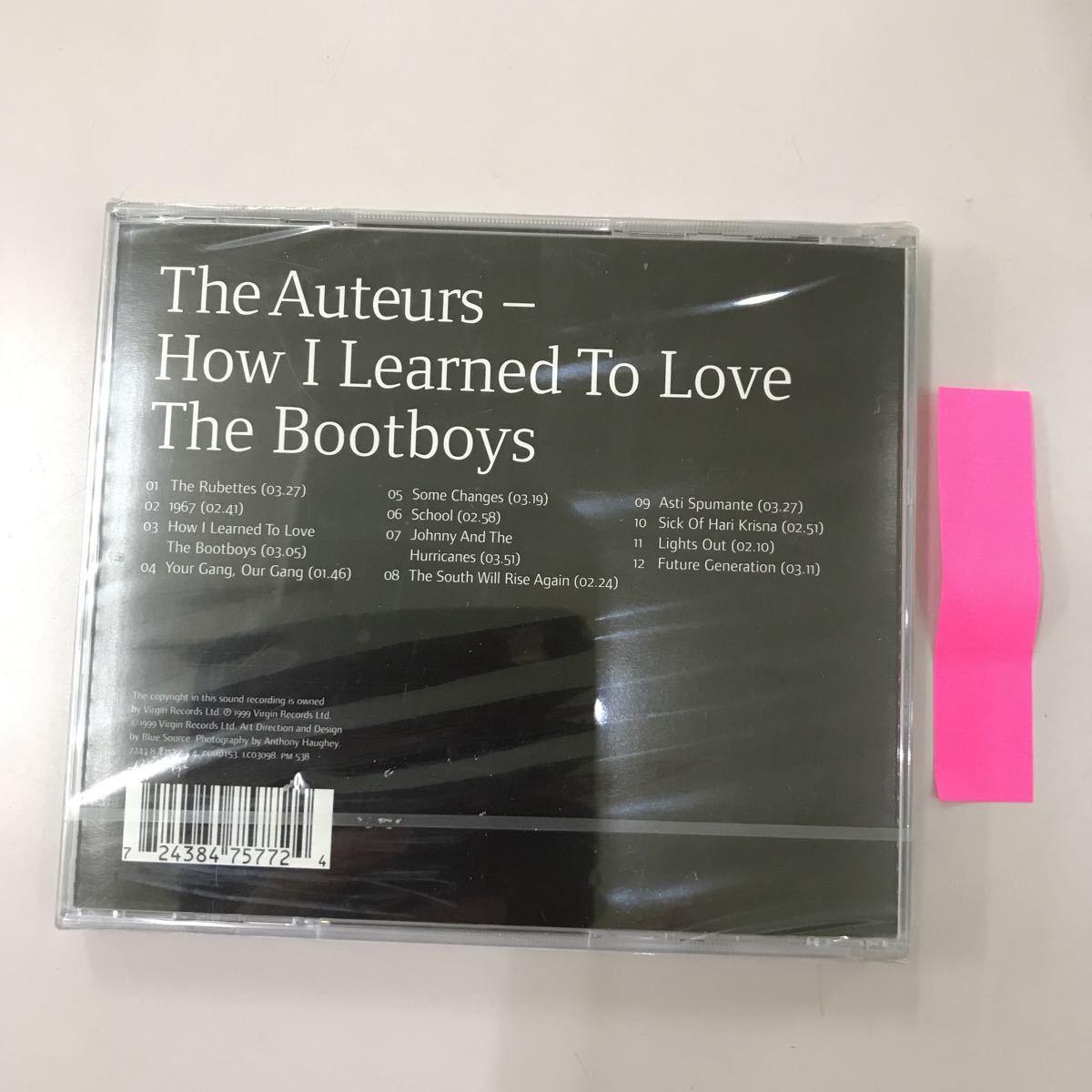CD 輸入盤未開封【洋楽】長期保存品 The Auteurs