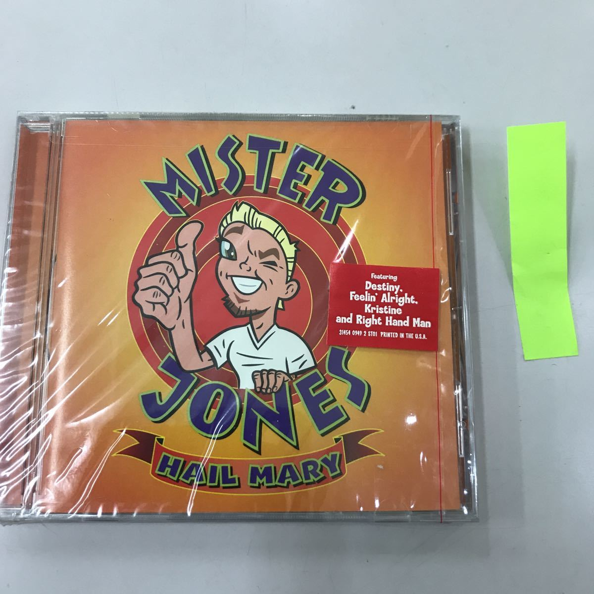 CD 輸入盤未開封【洋楽】長期保存品 MISTER JONES