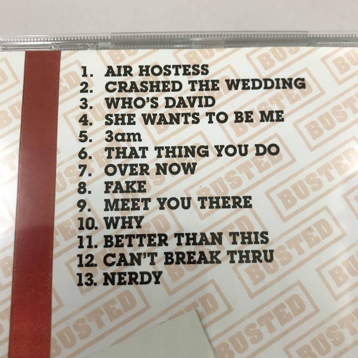CD 中古☆【洋楽】BUSTED