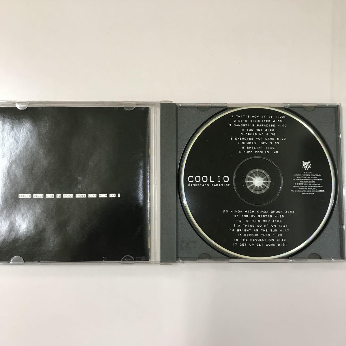 CD 中古☆【洋楽】COOLIO