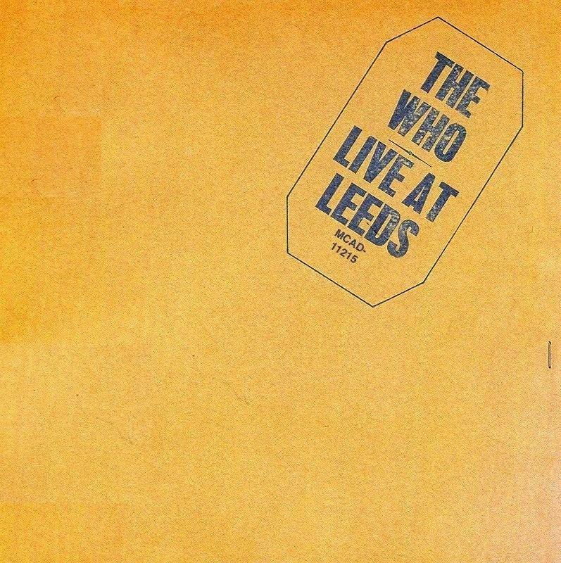 ◆◆THE WHO◆LIVE AT LEEDS ライヴ・アット・リーズ 熱狂のステージ ザ・フー 25周年エディション 即決 送料込◆◆