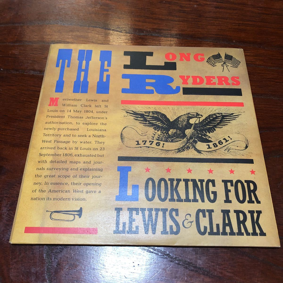 The Long Ryders Looking For Lewis & Clark UK盤7インチシングル2枚組レコード