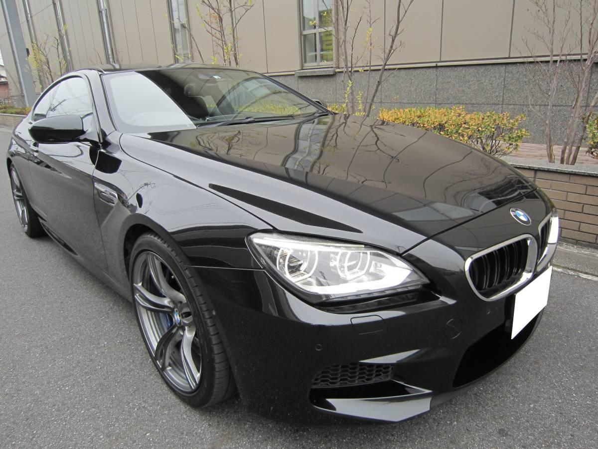 「☆必見♪2014年 後期モデル BMW M6 4.4L V型8気筒 ツインターボ 560ps インテリジェントセーフティ 実走行&無事故☆」の画像3