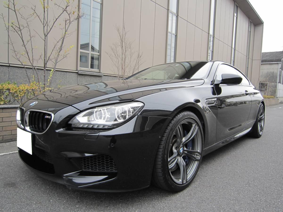 「☆必見♪2014年 後期モデル BMW M6 4.4L V型8気筒 ツインターボ 560ps インテリジェントセーフティ 実走行&無事故☆」の画像1