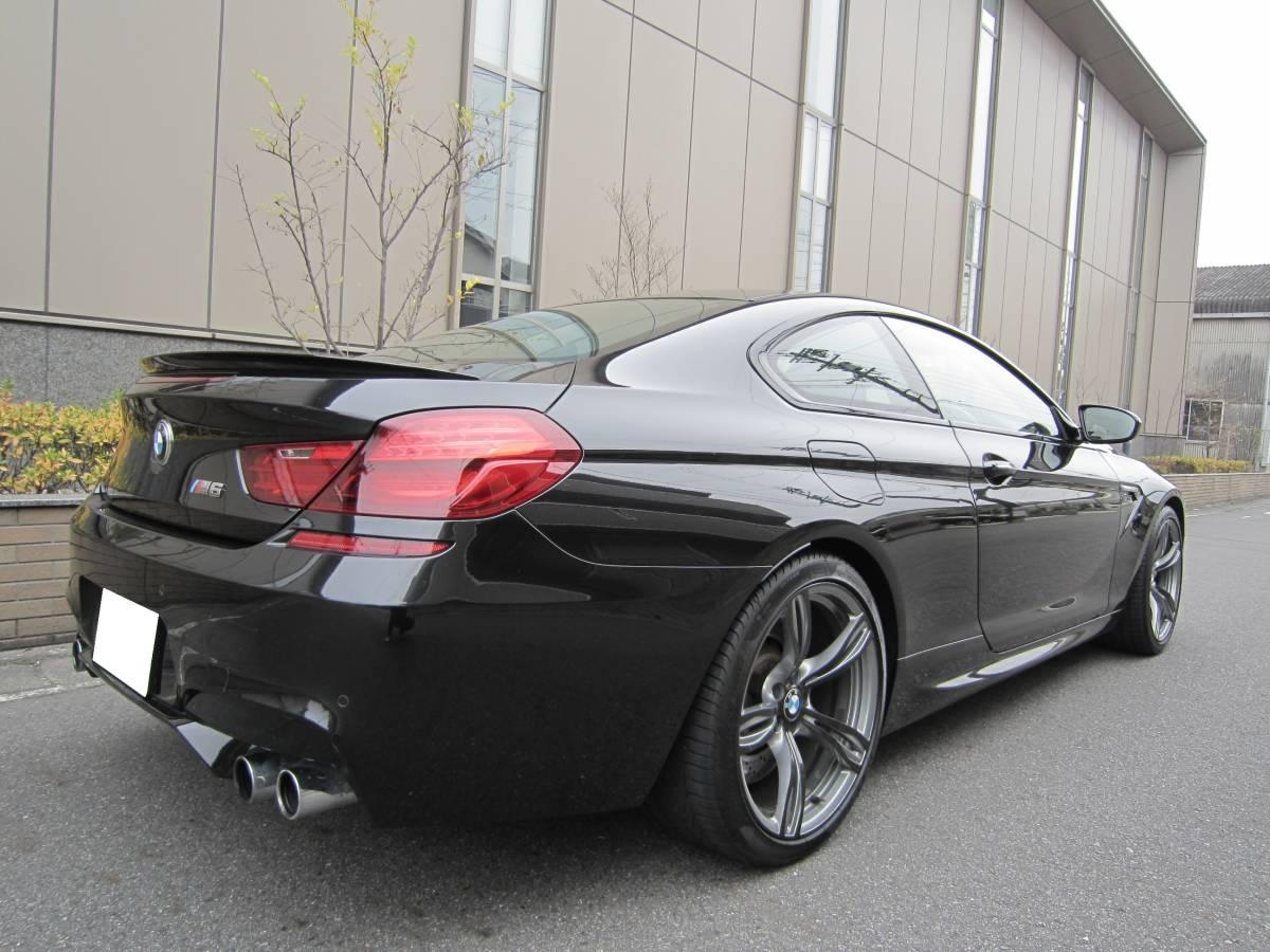 「☆必見♪2014年 後期モデル BMW M6 4.4L V型8気筒 ツインターボ 560ps インテリジェントセーフティ 実走行&無事故☆」の画像2