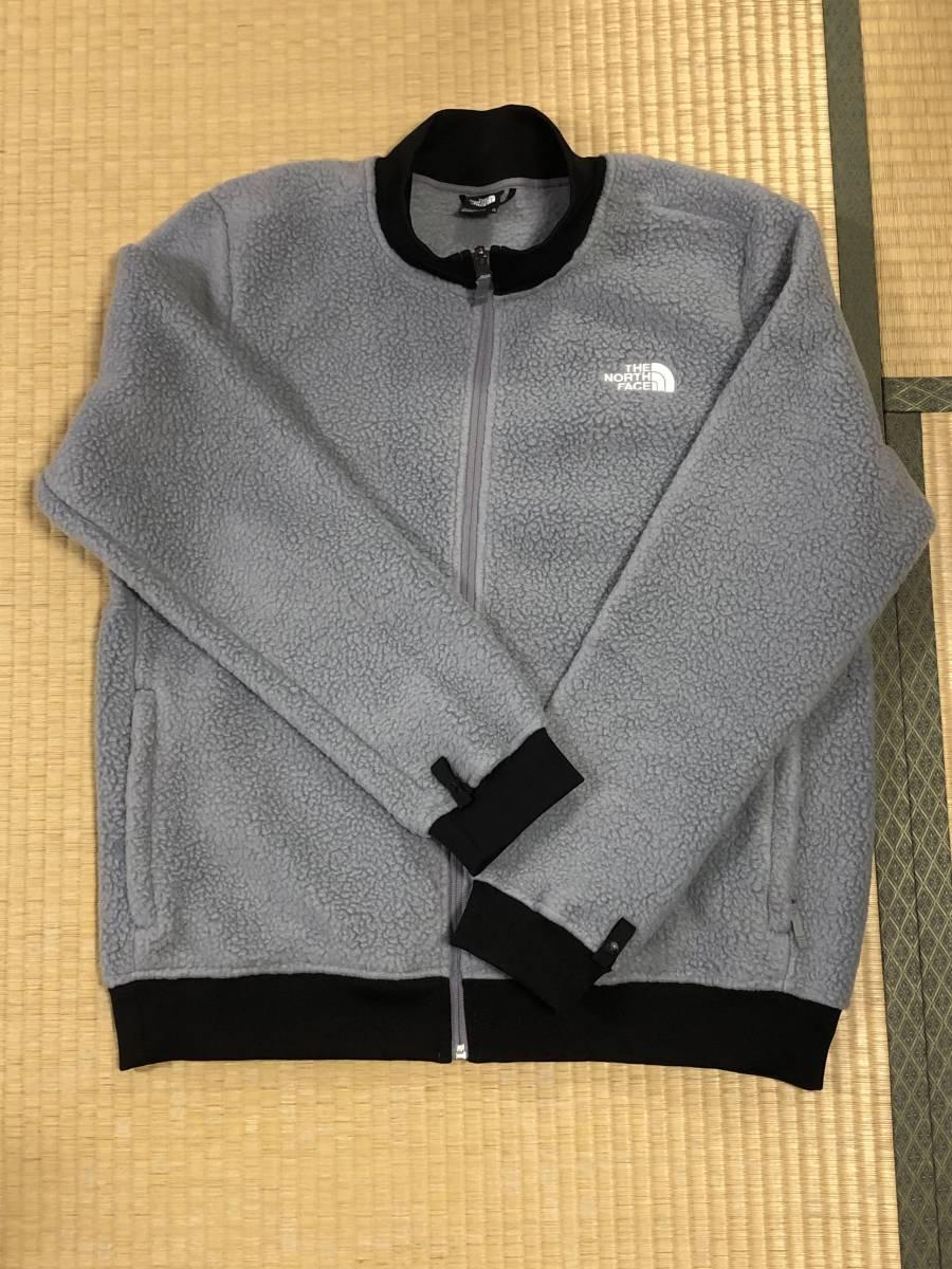 3way新品(ot3703XL)The North Face (メンズXL)トリクライメイトジャケットマウンテンパーカー×シェルパフリースジャケットグレー色_画像2