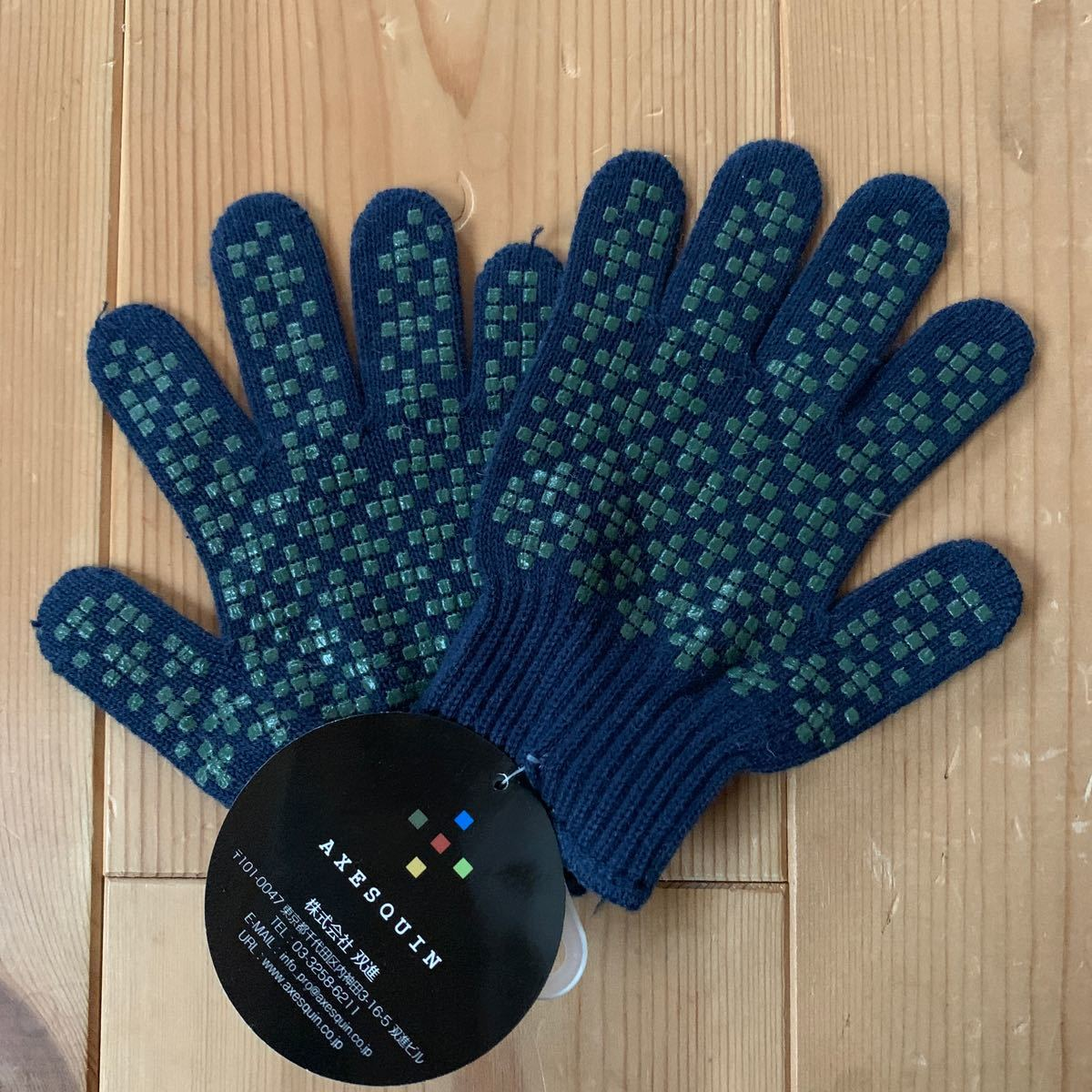 アウトドアウェア アクシーズクイン Gnome Junior's Glove (ネイビー) サイズJM  手袋 子供用軍手