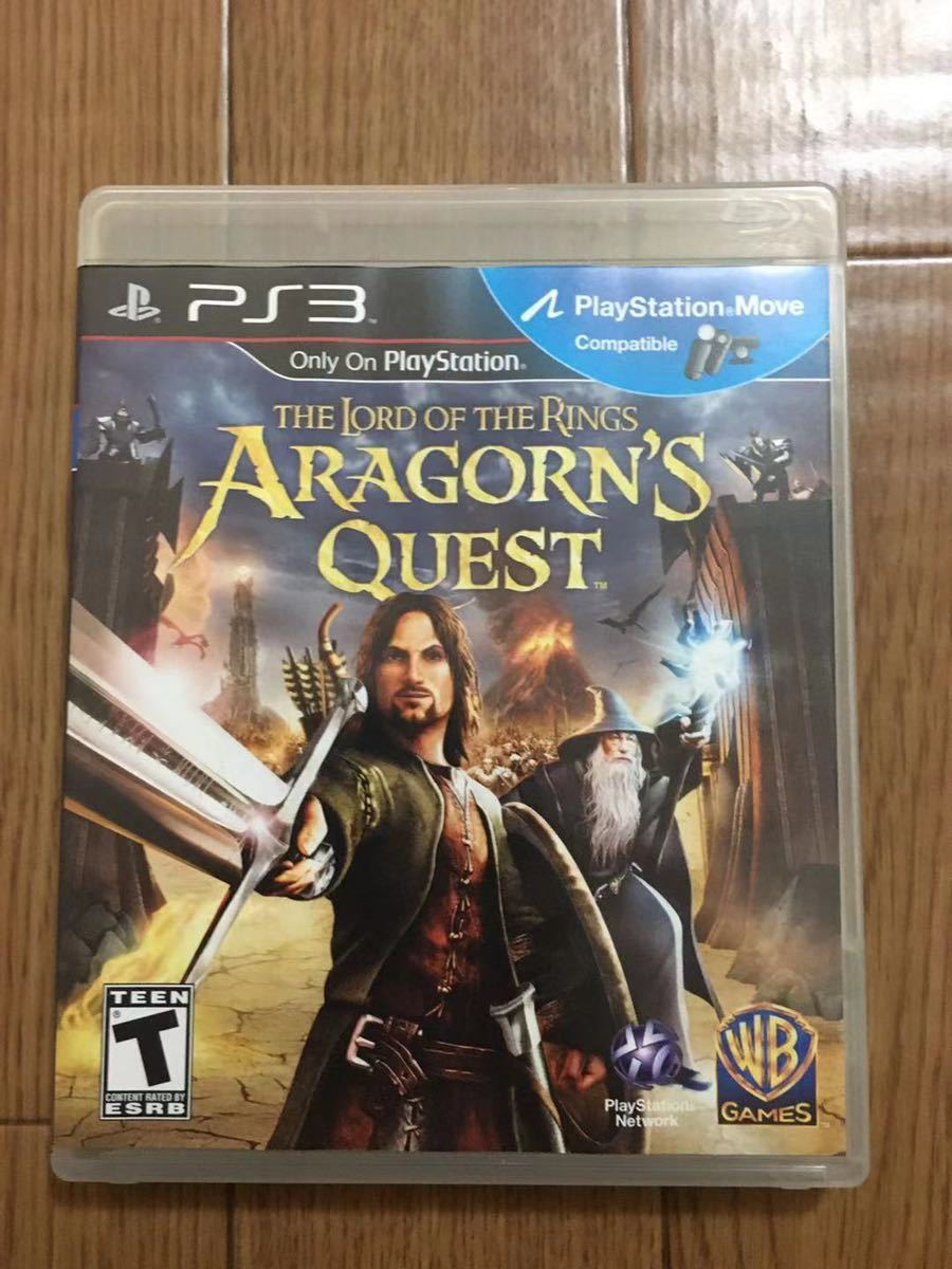 The Lord of the Rings Aragorn's Quest海外版 PS3ソフト