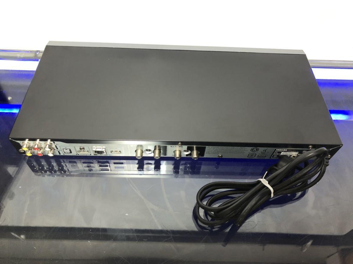 東芝REGZA ブルーレイレコーダーDBR-Z250 Wチューナー DVDも美しい超解像度XDE フルリモコン中古動作品_画像9