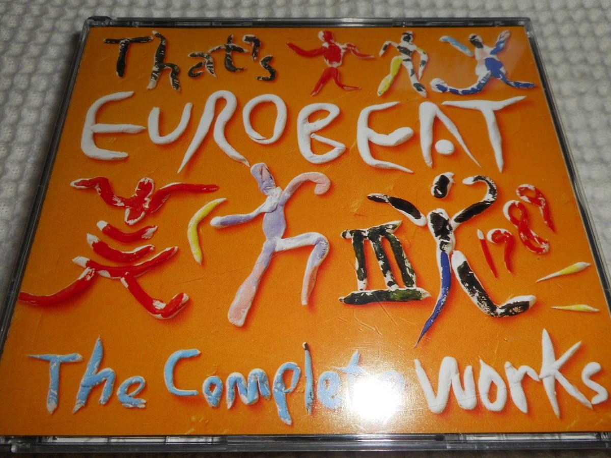ユーロビート/ディスコ★THAT'S EUROBEAT THE COMPLETE WORKS Ⅲ 1989★ザッツ・ユーロビート・ザ・コンプリート・ワークス Ⅲ 1989