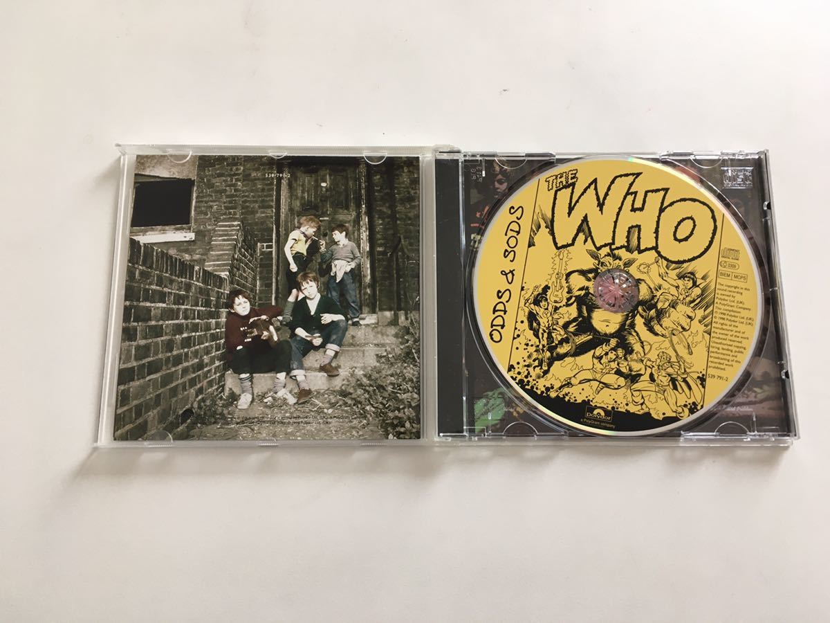 THE WHO ザ・フー Odds & Sods 輸入盤 中古CD 送料込み