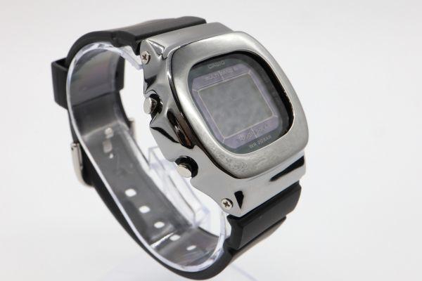 BGD-5000 カシオ カスタムGショック ブラック シルバー925 鏡面加工 シルバー鑑定済 ベビーG 純銀 ユニセックス_画像3