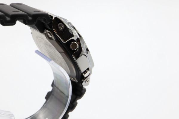 カスタムGショック GW-M5610 シルバー925 ブラック 鏡面加工 鑑定済 シルバー製ベゼル 純銀 メンズ カスタムベゼル G-SHOCK_画像8