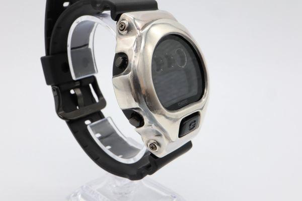 カスタムGショック シルバー925 DW-6900BB-1JF ヴィンテージ加工 鑑定済 G-SHOCK メンズ カスタムベゼル シルバー製ベゼル_画像4