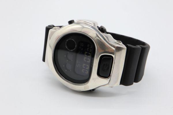 カスタムGショック シルバー925 DW-6900BB-1JF ヴィンテージ加工 鑑定済 G-SHOCK メンズ カスタムベゼル シルバー製ベゼル_画像7