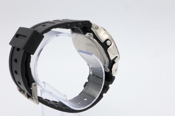 カスタムGショック DW-5600BB-1JF ヴィンテージ加工 シルバー925 鑑定済 純銀 メンズ G-SHOCK カスタムベゼル_画像6