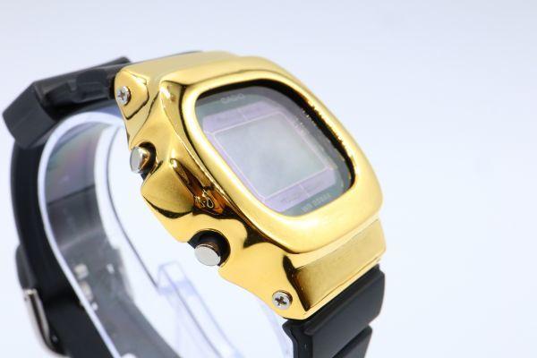 BGD-5000MD-1JF カシオ カスタムGショック シルバー925 ゴールド 鏡面加工 シルバー鑑定済 ベビーG 純銀 メンズ レディース ユニセックス_画像7
