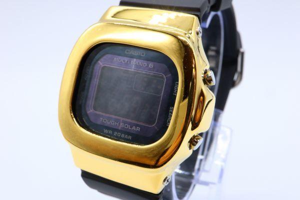 BGD-5000MD-1JF カシオ カスタムGショック シルバー925 ゴールド 鏡面加工 シルバー鑑定済 ベビーG 純銀 メンズ レディース ユニセックス_画像2