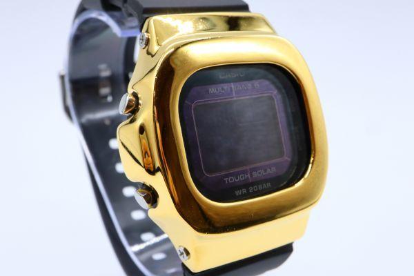 BGD-5000MD-1JF カシオ カスタムGショック シルバー925 ゴールド 鏡面加工 シルバー鑑定済 ベビーG 純銀 メンズ レディース ユニセックス_画像5