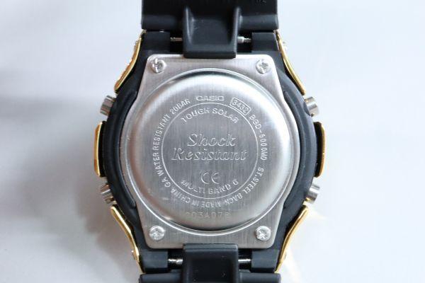 BGD-5000MD-1JF カシオ カスタムGショック シルバー925 ゴールド 鏡面加工 シルバー鑑定済 ベビーG 純銀 メンズ レディース ユニセックス_画像8
