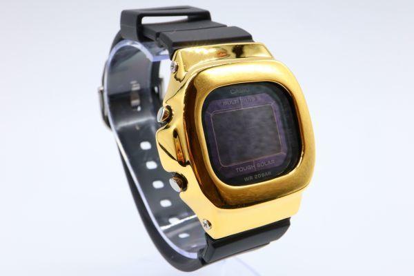BGD-5000MD-1JF カシオ カスタムGショック シルバー925 ゴールド 鏡面加工 シルバー鑑定済 ベビーG 純銀 メンズ レディース ユニセックス_画像4