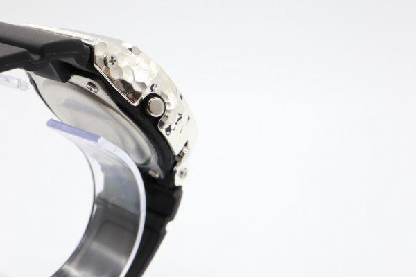 カスタムGショック BGD5000 シルバー925 ベビーG 槌目 鑑定済 シルバー製ベゼル カスタムベゼル 純銀 G-SHOCK_画像5