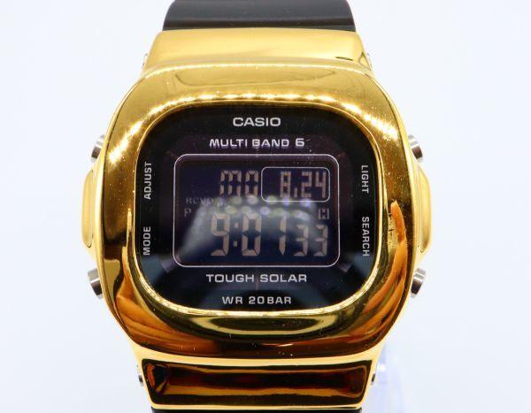 BGD-5000MD-1JF カシオ カスタムGショック シルバー925 ゴールド 鏡面加工 シルバー鑑定済 ベビーG 純銀 メンズ レディース ユニセックス_画像6