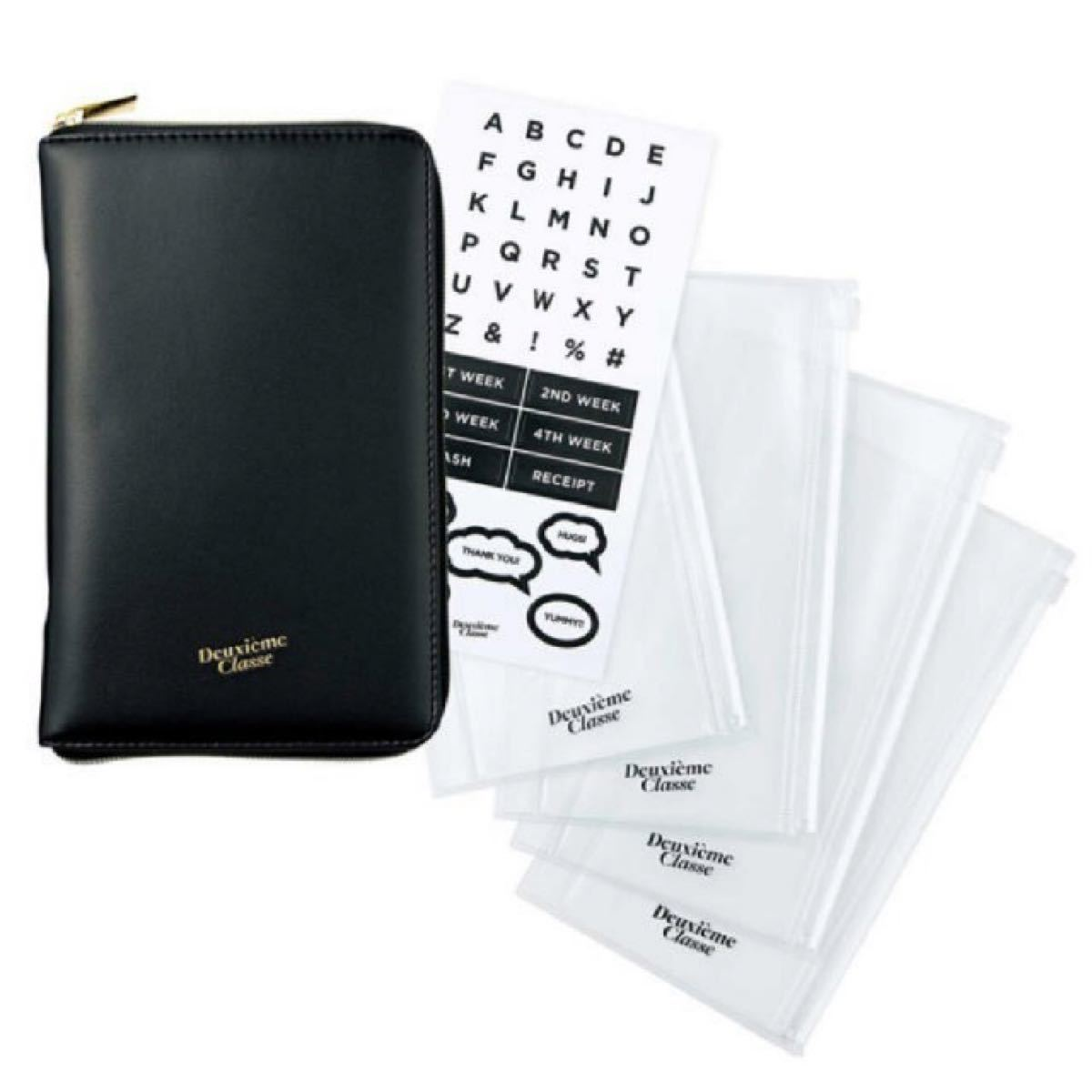 ドゥーズィエムクラス  おしゃれ過ぎる 家計管理ポーチセット  マルチケース 通帳ケース カードケース