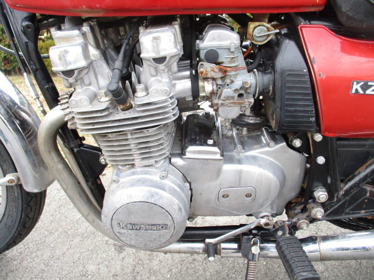 カワサキ KZ650B Z650B ザッパー オーバーホールベース車 (検 KZ650C KZ650D Z750FX2 Z1000A_画像8