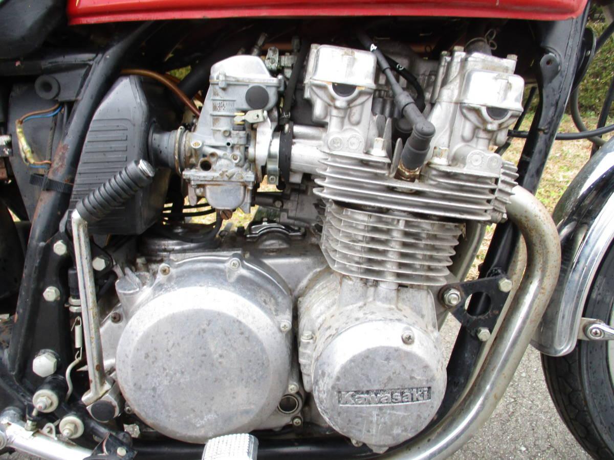 カワサキ KZ650B Z650B ザッパー オーバーホールベース車 (検 KZ650C KZ650D Z750FX2 Z1000A_画像4