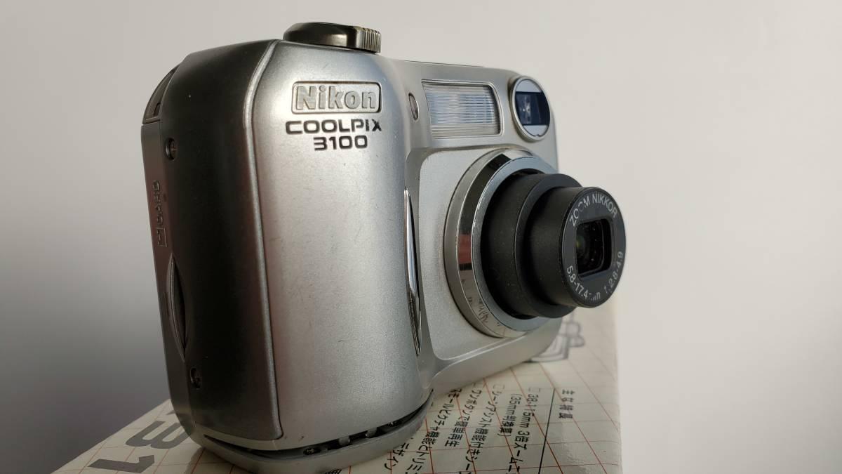 デジカメジャンク品 ニコン クールピクス3100 Nikon COOLPIX _画像6