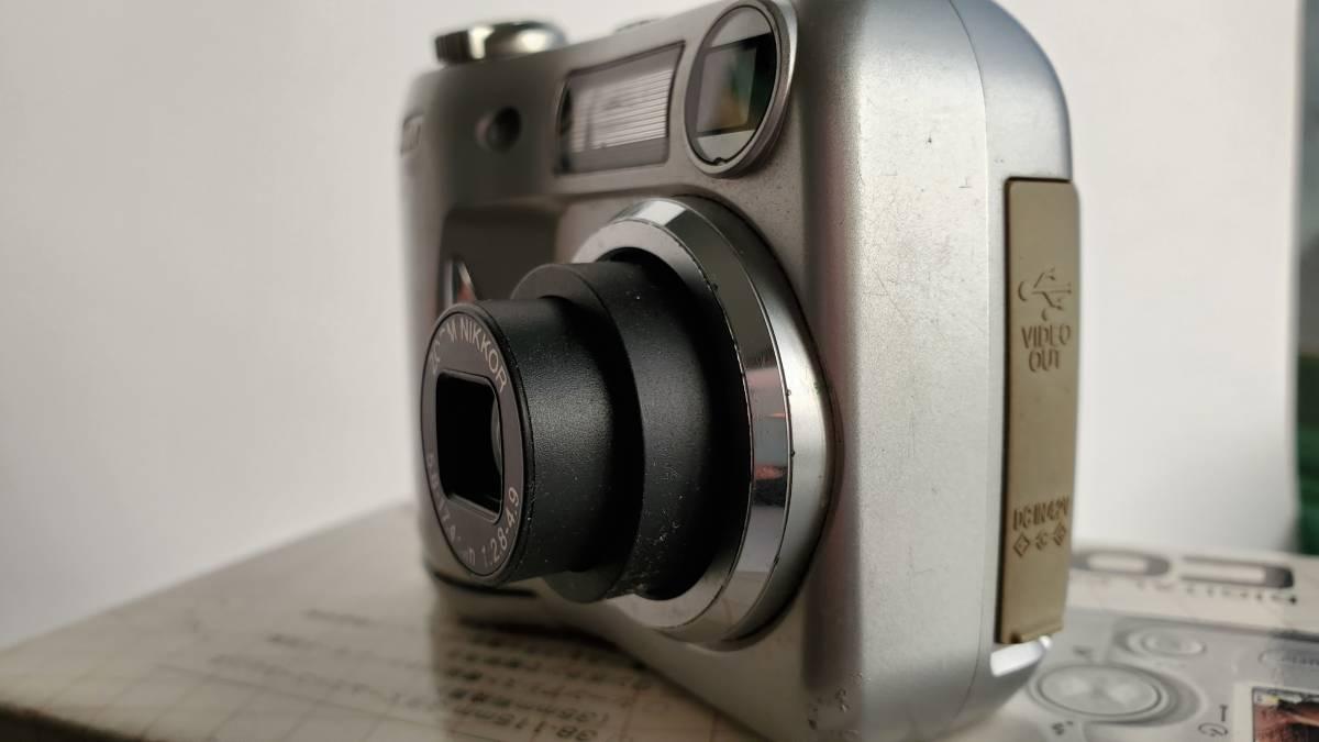 デジカメジャンク品 ニコン クールピクス3100 Nikon COOLPIX _画像7