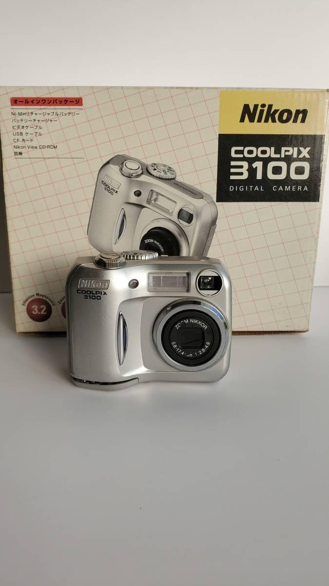 デジカメジャンク品 ニコン クールピクス3100 Nikon COOLPIX _画像1