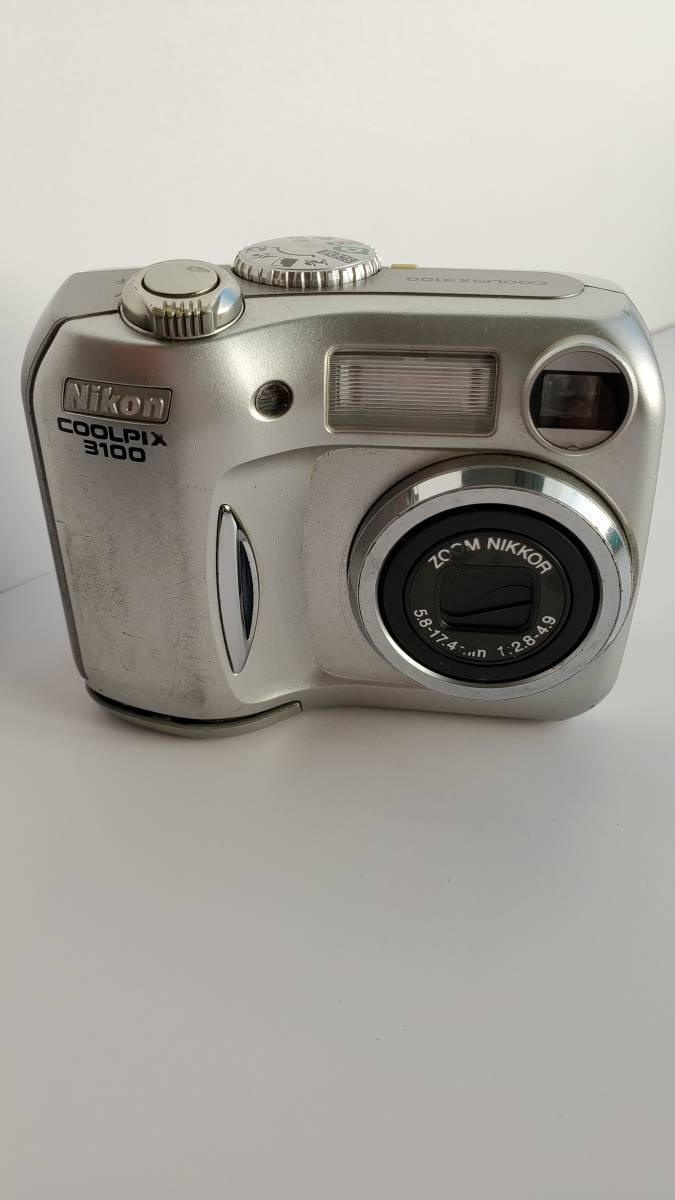 デジカメジャンク品 ニコン クールピクス3100 Nikon COOLPIX _画像3