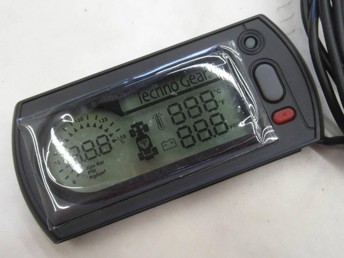 室内からタイヤの状態をチェック!TechnoGear(テクノギア)TPMS(タイヤプレッシャーモニタリングシステム)4輪用未使用 空気圧センサー TGTS4_画像5