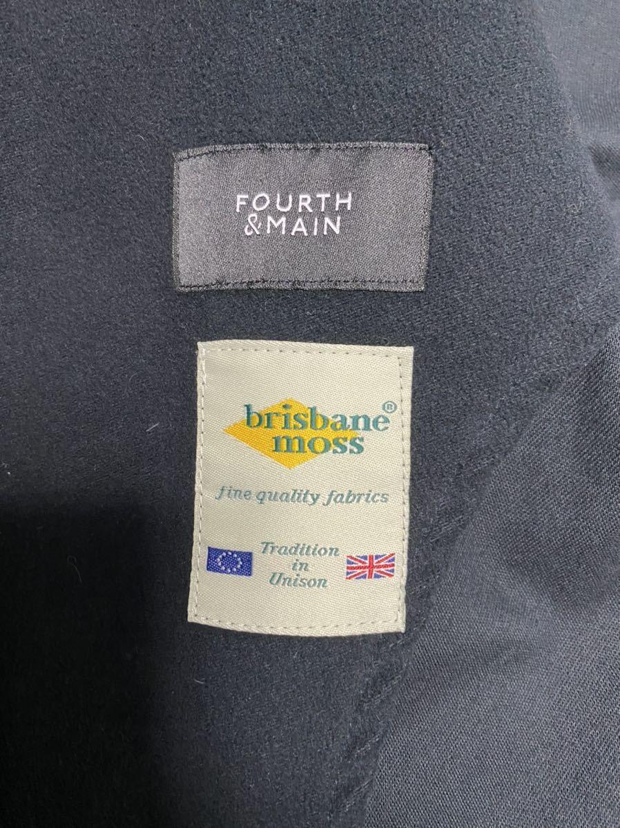 FOURTH&MAIN ジャケット モールスキン イギリス製 Lサイズ_画像5