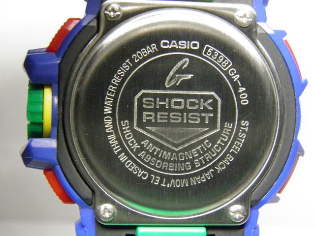 G-SHOCK 買取のGRAVITY◇GA-400-2A Hyper Colors(ハイパーカラーズ)ロータリースイッチモデル グリーンカラー CASIO/G-SHOCK_画像5