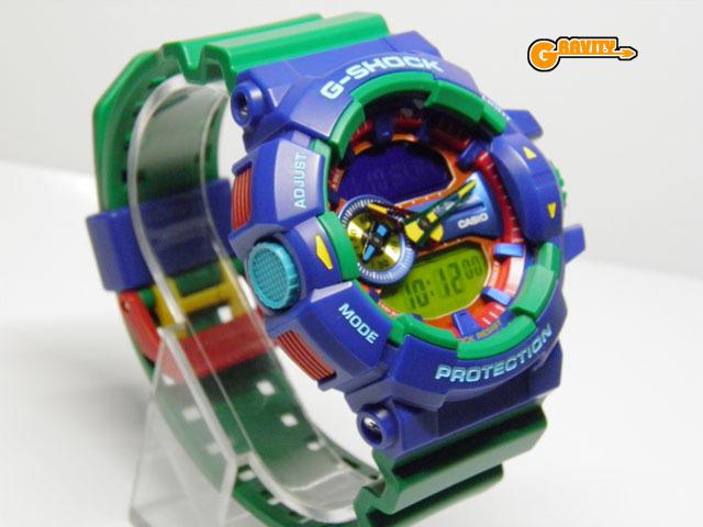G-SHOCK 買取のGRAVITY◇GA-400-2A Hyper Colors(ハイパーカラーズ)ロータリースイッチモデル グリーンカラー CASIO/G-SHOCK_画像2