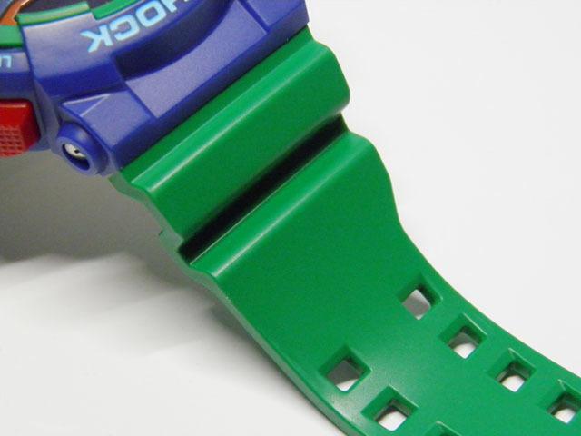 G-SHOCK 買取のGRAVITY◇GA-400-2A Hyper Colors(ハイパーカラーズ)ロータリースイッチモデル グリーンカラー CASIO/G-SHOCK_画像6