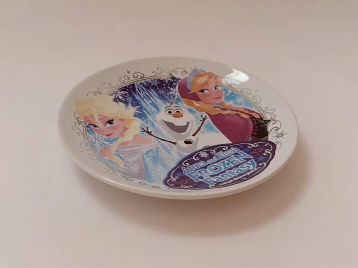 ◆未使用◆東京ディズニーランド アナと雪の女王 スーベニア プレート フローズンファンタジー アナ雪 ディズニー皿 オラフ_画像1