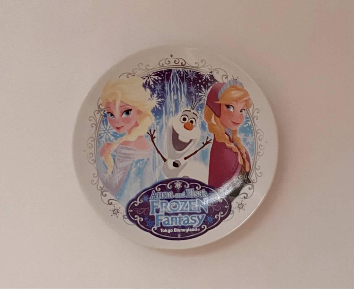 ◆未使用◆東京ディズニーランド アナと雪の女王 スーベニア プレート フローズンファンタジー アナ雪 ディズニー皿 オラフ_画像2