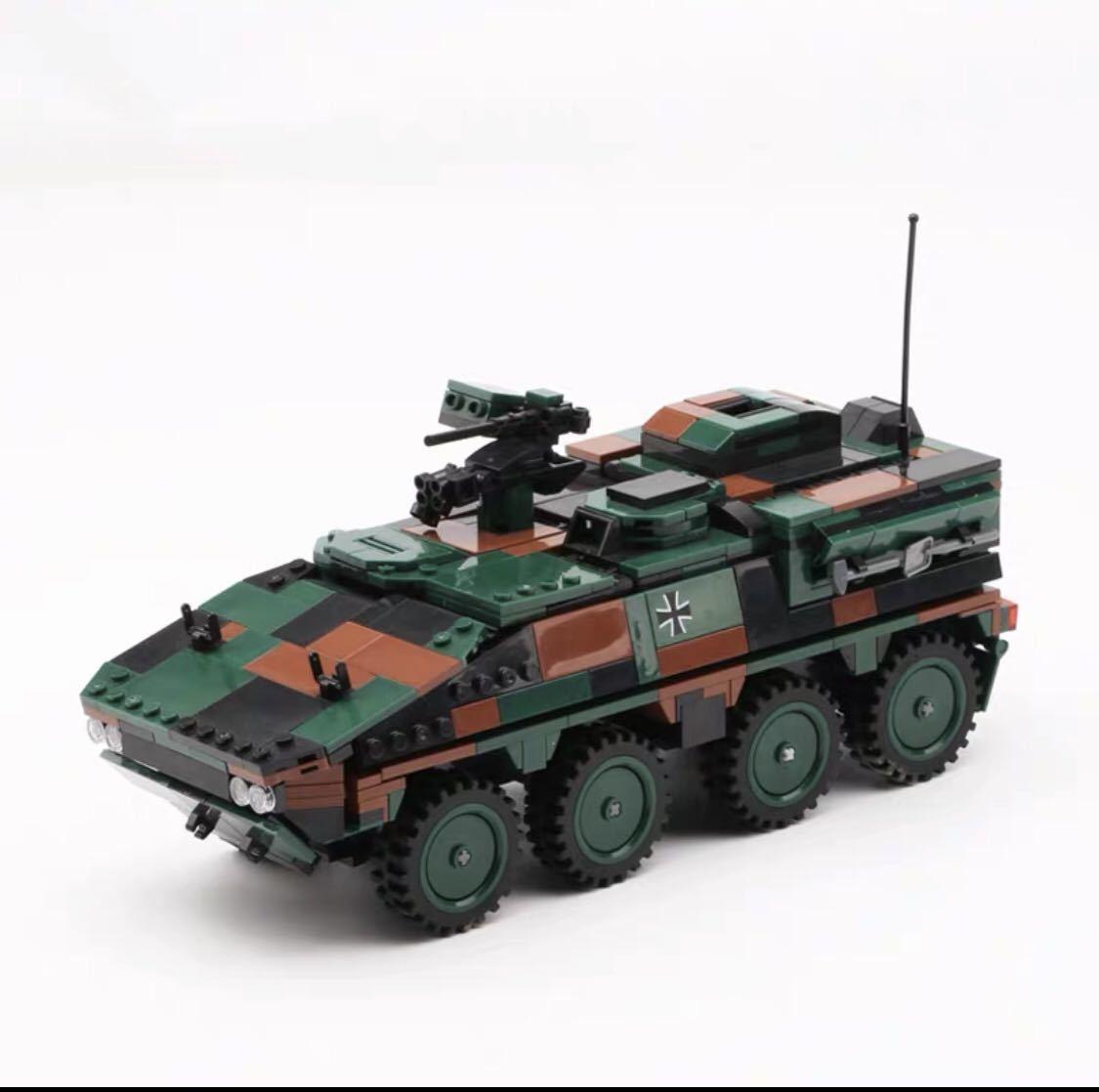 戦車 ミニフィグ レゴ 互換 LEGO 互換 テクニック フィギュア gtk ボクサー装輪装甲車_画像1