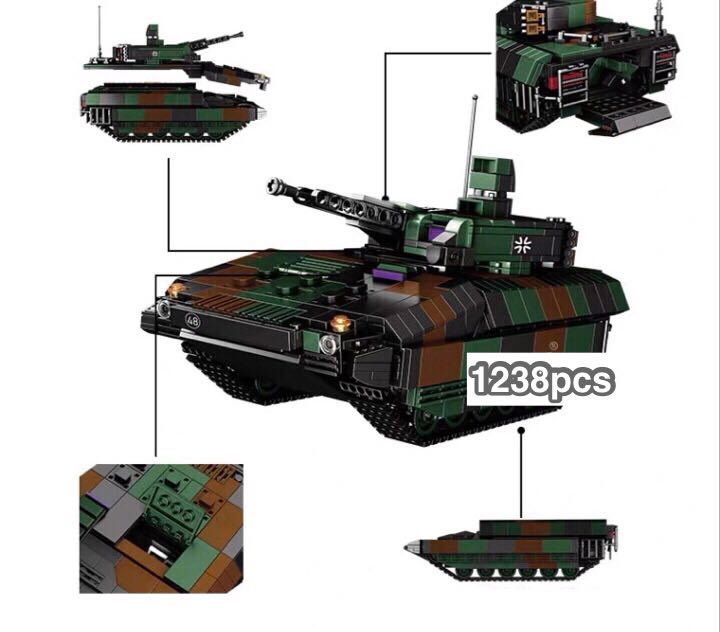 戦車 ミニフィグ レゴ 互換 LEGO 互換 テクニック フィギュア プーマ装甲歩兵戦闘車_画像3