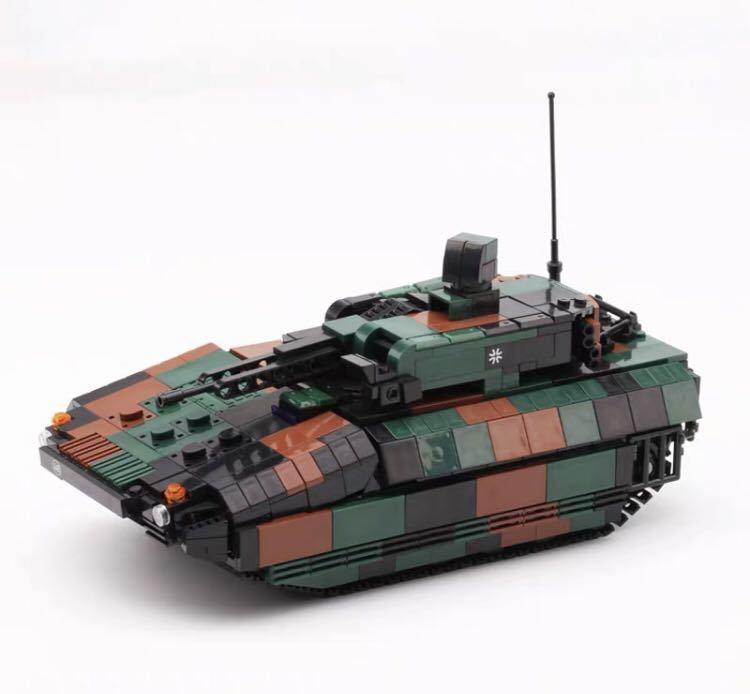 戦車 ミニフィグ レゴ 互換 LEGO 互換 テクニック フィギュア プーマ装甲歩兵戦闘車_画像1