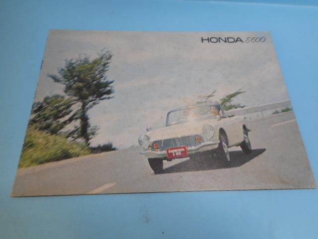HONNDA 旧車 ホンダ S600 全6ページ カタログ 自動車 _画像1