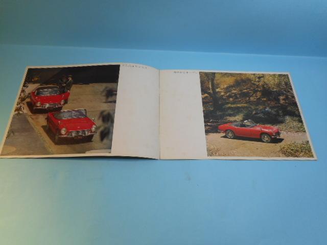 HONNDA 旧車 ホンダ S600 全6ページ カタログ 自動車 _画像2
